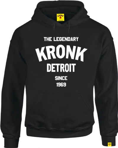 Kronk Legendary Detroit Hoody - Black